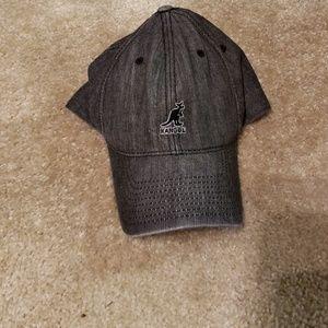 Gray kangol hat